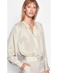 Equipment Causette Silk Shirt - Natural