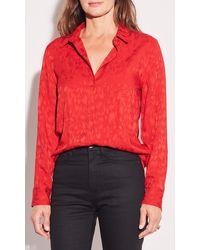 Equipment Leema Shirt By - Red