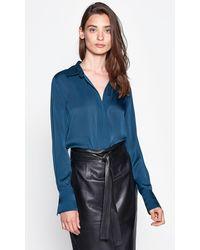 Equipment Rene Shirt - Blue