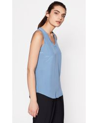 Equipment - Mel Silk Tank - Lyst