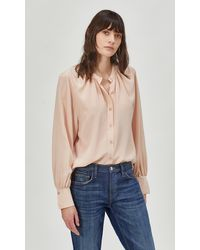 Equipment Causette Silk Top By - Multicolour