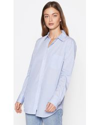 Equipment Kenton Cotton Shirt By - White