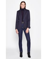 Equipment Burelle Wool Blazer - Blue
