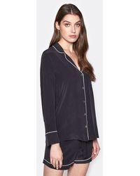 Equipment Lillian Silk Pyjama Set - Black