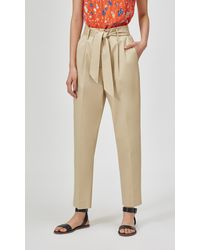 Equipment Horace Trouser By - Natural