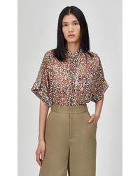 Equipment Alvia Silk Shirt By - Multicolor