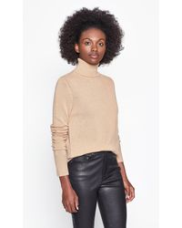 Equipment Delafine Cashmere Turtleneck - Natural