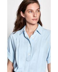 Equipment Dariell Shirt - Blue