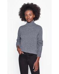 Equipment Delafine Cashmere Turtleneck - Gray
