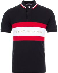 Tommy Hilfiger - Iconic Chest Stripe Polo - Lyst