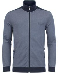 BOSS Athleisure - Poly Pique Track Top - Lyst