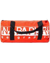 Napapijri Hack Duffle Bag In Orange