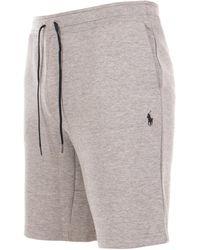 Polo Ralph Lauren Double-knit Tech Sweat Short - Grey