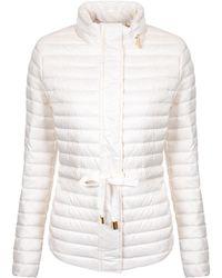 Michael Kors - Belted Puffer Jacket - Lyst