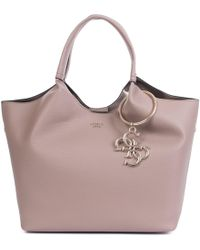 Guess - Flora Shopper In Taupe - Lyst