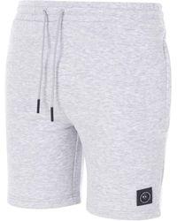 Marshall Artist Siren Zip Shorts - Grey