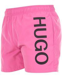HUGO Abas Swim Shorts - Multicolour