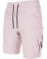 Marshall Artist Cotton Polyamide Cargo Short - Pink