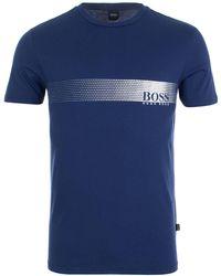 BOSS Black - Dégradé Logo T-shirt - Lyst