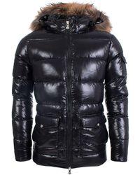 Pyrenex Shiny Fur Parka - Black