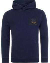 Kent & Curwen E.k. 1926 Hooded Sweatshirt - Blue