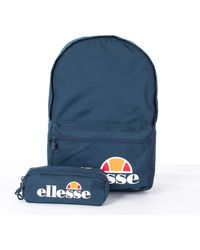 Ellesse Rolby Backpack And Pencil Case Set - Blue