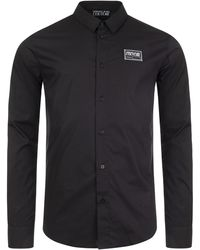 Versace Jeans Couture - Slim Fit Label Stretch Shirt - Lyst