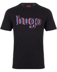 HUGO - Dontrol T-shirt - Lyst