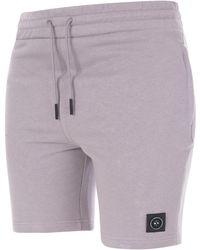 Marshall Artist Siren Zip Shorts - Purple