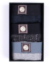 Pretty Green - 3 Pack Boxer Shorts - Lyst