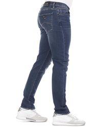 Armani Exchange J13 Slim Fit Jeans - Blue