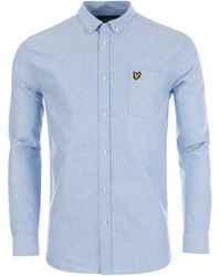 Lyle & Scott - Long Sleeved Oxford Shirt - Lyst