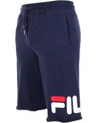 Fila George Sweat Shorts - Blue