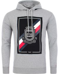 552456df Crest Artwork Drawstring Hoodie - Multicolour