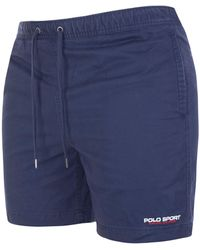 Polo Ralph Lauren Classic 6 Inch Prepster Stretch Twill Shorts - Blue