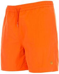 Carhartt WIP Chase Swim Trunks - Orange