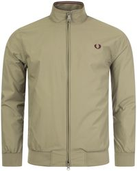 Fred Perry Brentham Jacket - Green