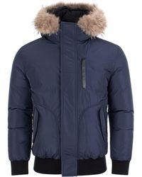 Mackage - Florian Down Fur Hood Bomber Jacket - Lyst