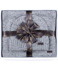 Barbour - Donegal Knitted Gift Set - Lyst