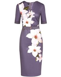 Ted Baker - Chatsworth Bloom Bodycon Dress - Lyst