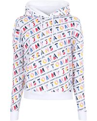 Lyle & Scott All Over Print Hoodie - White