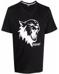 PUMA Scouted Cotton T-shirt - Black