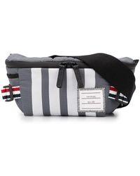 Thom Browne 4--bar Belt Bag - Grey