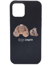 Palm Angels Teddy Bear Iphone 12 Pro Max Case - Black