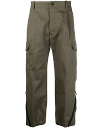 Nine:inthe:morning Hybrid Chino Trousers - Green
