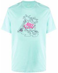 Nike - Logo-print Short-sleeve T-shirt - Lyst