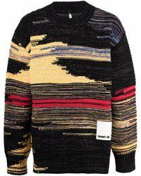 OAMC Striped Knitted Jumper - Black
