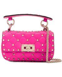 Valentino Garavani Rockstud Spike Crossbody Bag - Pink
