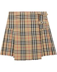 Burberry Vintage Check Kilt - Multicolour