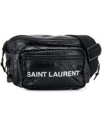 Saint Laurent Nuxx Belt Bag - Black